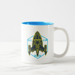 Two-Tone Mug with Stellosphere Badge design