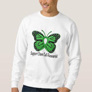 Stem Cell Awareness Butterfly Ribbon Sweatshirt