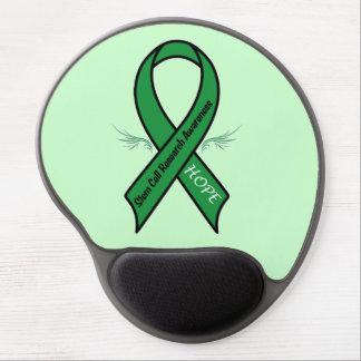 Stem Cell Awareness Ribbon Gel Mouse Pad