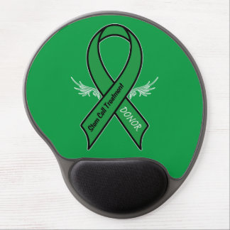 Stem Cell Donor Awareness Ribbon Gel Mouse Pad