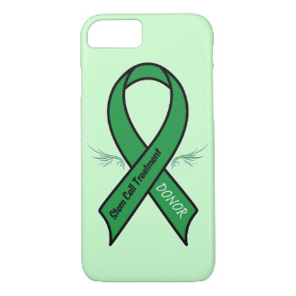Stem Cell Donor Awareness Ribbon iPhone 8/7 Case