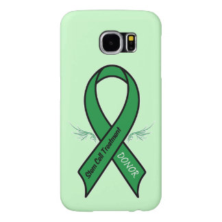 Stem Cell Donor Awareness Ribbon Samsung Galaxy S6 Cases