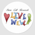 Stem Cell Research Stickers