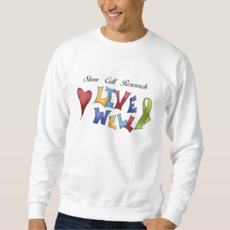 Stem Cell Research Sweatshirt
