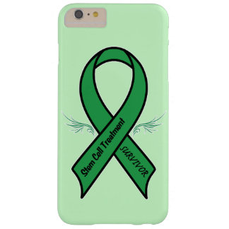 Stem Cell Survivor Awareness Ribbon Barely There iPhone 6 Plus Case