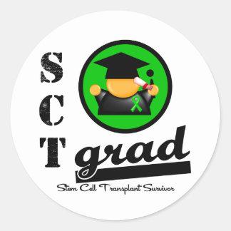 Stem Cell Transplant Grad Sticker