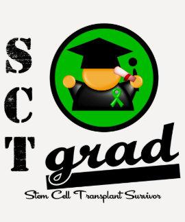 Stem Cell Transplant Grad T-shirts