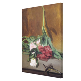 Stem of Peonies and Secateurs, c.1864 Canvas Prints