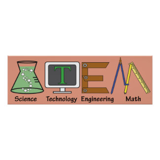 STEM Picture Poster