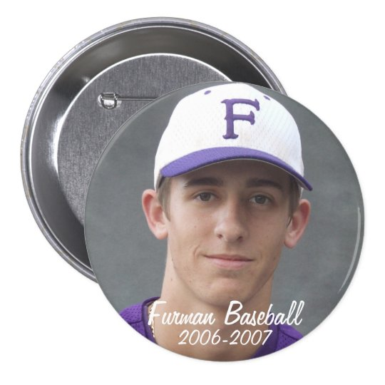 StembridgeW2007Mug, Furman Baseball, 2006-2007 Pinback Button