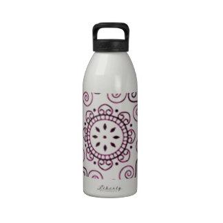 stempelset-indien***henna reusable water bottle