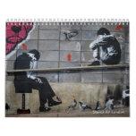 Stencil Art London Calendar