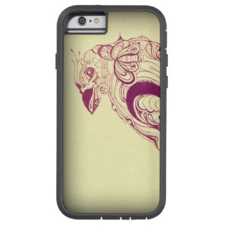 Stencil Bird Drawing Tough Xtreme iPhone 6 Case
