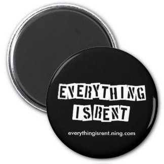 Stencil Letters Magnet