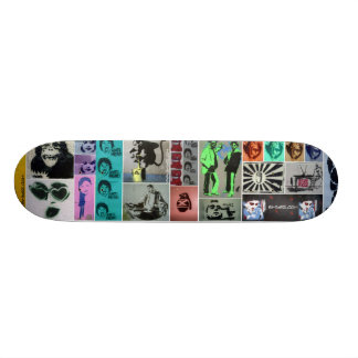 Stencil Mayhem Skate Decks