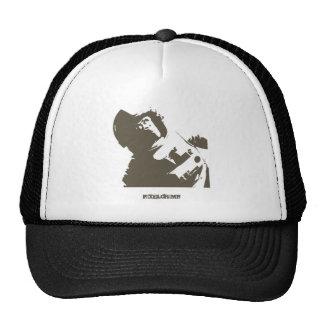 Stencil Space Chimp Hat