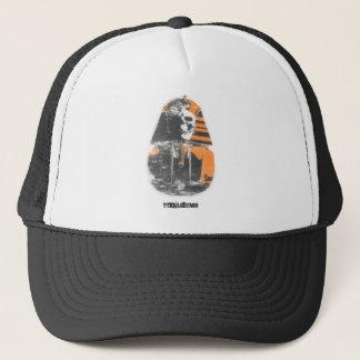 Stencil Spray Pharoah Trucker Hat