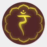 """Stenciled"" 3rd Chakra - Manipura Stickers"