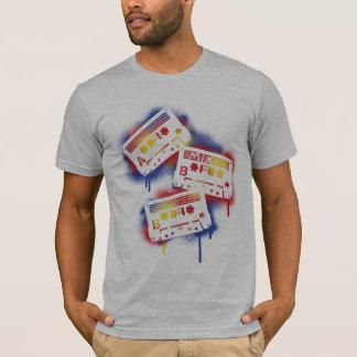 Stenciled Cassettes T-Shirt