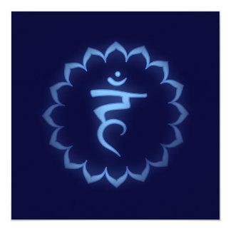 """Stenciled"" Crown Chakra - Sahasrara Card"