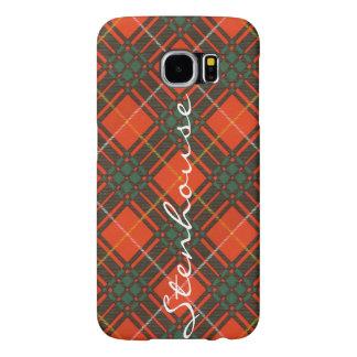 Stenhouse family clan Plaid Scottish kilt tartan Samsung Galaxy S6 Case