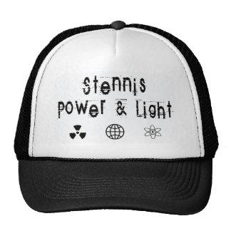 Stennis Power and Light, White Trucker Hat