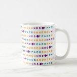 Steno Peace Joy Love Mug