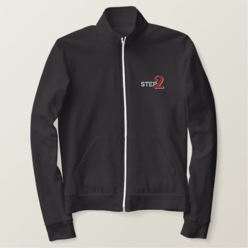 STEP2 Women's Embroidered American Apparel Jacket