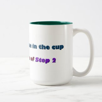 Step 1 - Put the Coffee In the Cup - MUG!