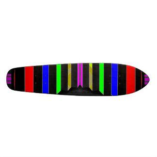 Step and STEPS : Colorful Beauty Stripes Skate Decks