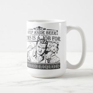 Step Aside Beer Coffee Mug