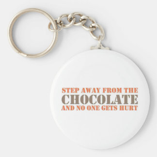 Step Away From the Chocolate Keychain