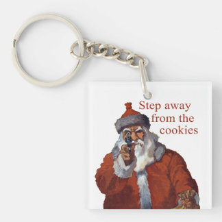 Step Away from the Cookies Keychain
