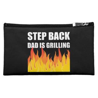 Step Back Dad Grilling Makeup Bag