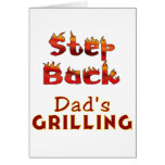 Step Back Dad's Grilling T-shirts and Gifts Cards