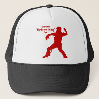 STEP BACK FACE TRUCKER HAT