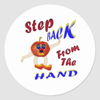 Step Back From The Hand Stickers
