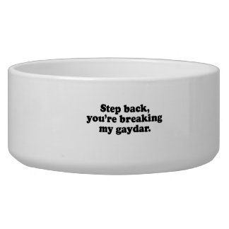 Step back you re breaking my gaydar png dog water bowl