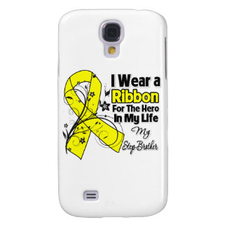 Step-Brother Hero in My Life Sarcoma Awareness Galaxy S4 Cover
