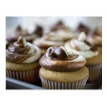 Step by step photos of peanut butter cupcakes post cards