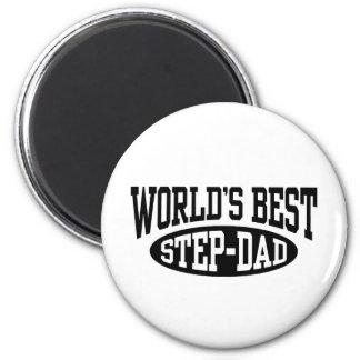 Step Dad 2 Inch Round Magnet