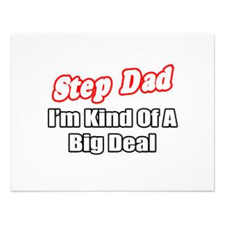 Step Dad Big Deal Custom Invites