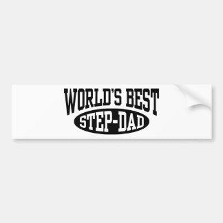 Step Dad Bumper Sticker