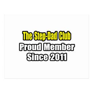 Step-Dad Club .. Proud Member Since 2011 Postcard