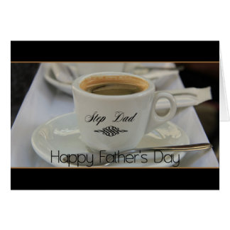 Step Dad Happy Father's Day Greeting Card
