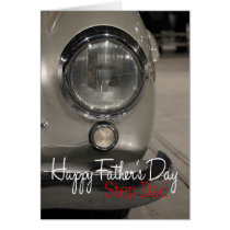 Step Dad Happy Father's Day Card