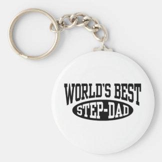 Step Dad Key Chains