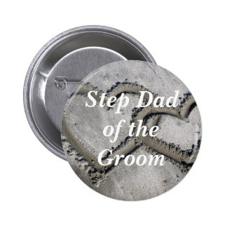 Step Dad Of The Groom Pins