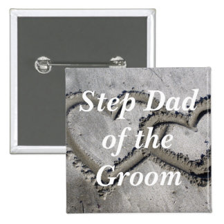 Step Dad Of The Groom Buttons