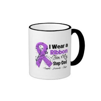 Step-Dad - Pancreatic Cancer Ribbon Ringer Coffee Mug